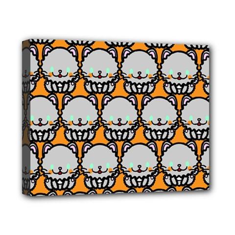 Sitpersian Cat Orange Canvas 10  x 8