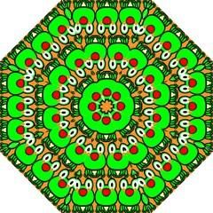 Sitfrog Orange Face Green Frog Copy Folding Umbrellas