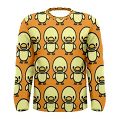 Small Duck Yellow Men s Long Sleeve Tee