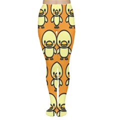 Small Duck Yellow Women s Tights