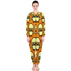 Small Duck Yellow OnePiece Jumpsuit (Ladies)