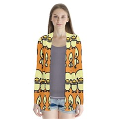 Small Duck Yellow Cardigans
