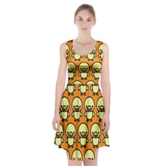 Small Duck Yellow Racerback Midi Dress