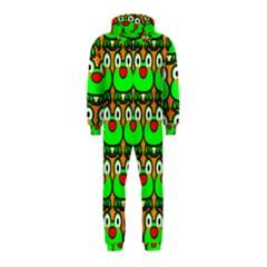 Sitfrog Orange Green Frog Hooded Jumpsuit (Kids)