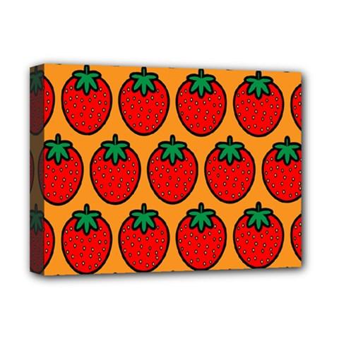 Strawberry Orange Deluxe Canvas 16  x 12