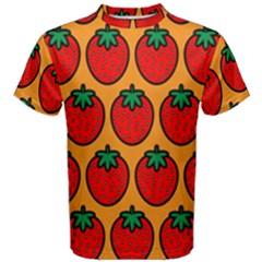 Strawberry Orange Men s Cotton Tee