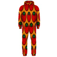 Strawberry Orange Hooded Jumpsuit (Men)