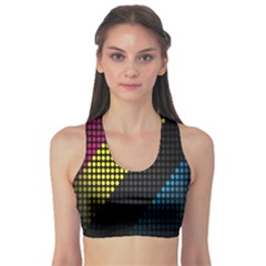 Techno Music Sports Bra