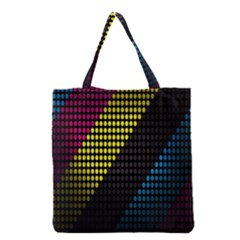 Techno Music Grocery Tote Bag