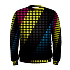 Techno Music Men s Sweatshirt