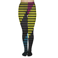 Techno Music Women s Tights