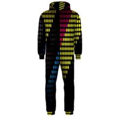 Techno Music Hooded Jumpsuit (Men)