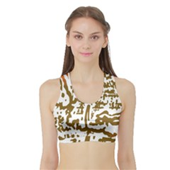 The Dance Sports Bra with Border
