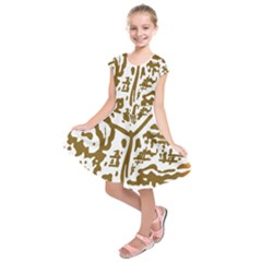 The Dance Kids  Short Sleeve Dress