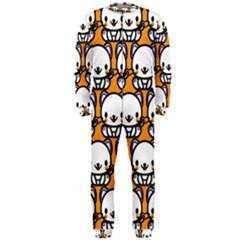 Sitwhite Cat Orange OnePiece Jumpsuit (Men)