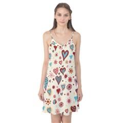 Valentine Heart Pink Love Camis Nightgown
