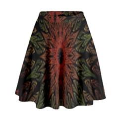 Sun High Waist Skirt