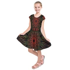 Sun Kids  Short Sleeve Dress