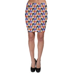 Wave Rope Bodycon Skirt
