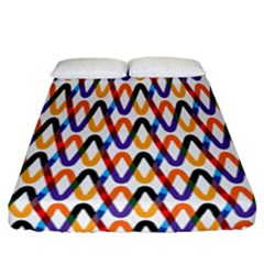 Wave Rope Fitted Sheet (california King Size)