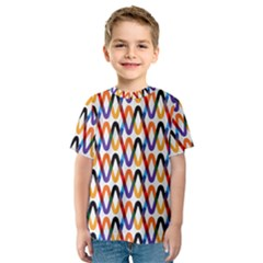Wave Rope Kids  Sport Mesh Tee