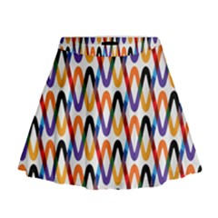 Wave Rope Mini Flare Skirt