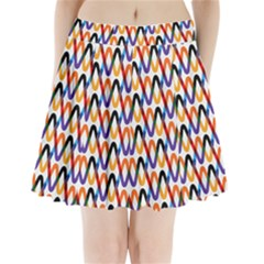 Wave Rope Pleated Mini Skirt