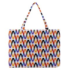 Wave Rope Medium Zipper Tote Bag