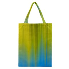 Yellow Blue Green Classic Tote Bag