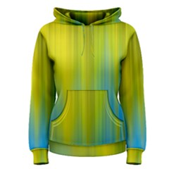 Yellow Blue Green Women s Pullover Hoodie