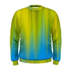 Yellow Blue Green Men s Sweatshirt