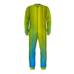 Yellow Blue Green OnePiece Jumpsuit (Kids)