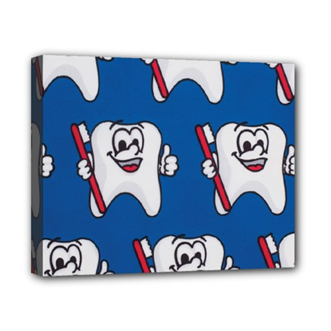 Tooth Canvas 10  x 8