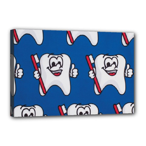 Tooth Canvas 18  x 12