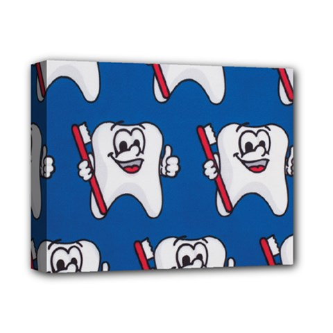 Tooth Deluxe Canvas 14  x 11