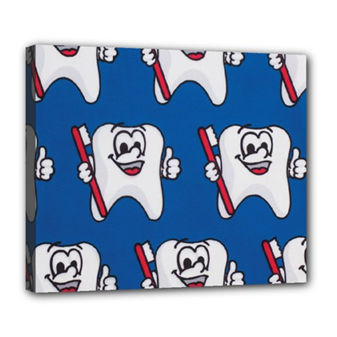 Tooth Deluxe Canvas 24  x 20