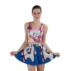 Tooth Mini Skirt