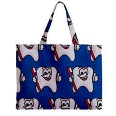 Tooth Zipper Mini Tote Bag