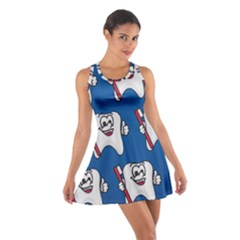 Tooth Cotton Racerback Dress