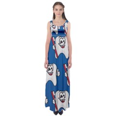 Tooth Empire Waist Maxi Dress