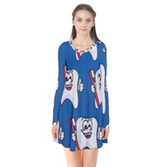 Tooth Flare Dress