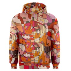 Abstract Abstraction Pattern Modern Men s Pullover Hoodie
