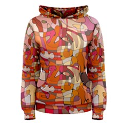 Abstract Abstraction Pattern Modern Women s Pullover Hoodie