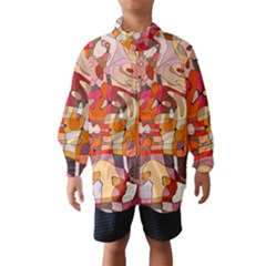 Abstract Abstraction Pattern Modern Wind Breaker (Kids)