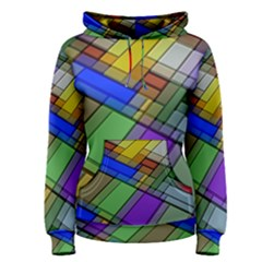 Abstract Background Pattern Women s Pullover Hoodie