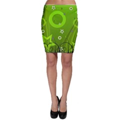 Art About Ball Abstract Colorful Bodycon Skirt