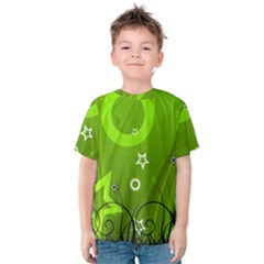 Art About Ball Abstract Colorful Kids  Cotton Tee
