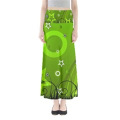 Art About Ball Abstract Colorful Maxi Skirts