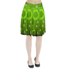 Art About Ball Abstract Colorful Pleated Skirt