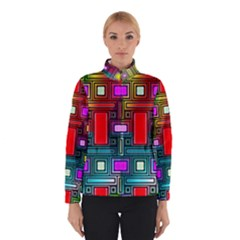 Art Rectangles Abstract Modern Art Winterwear